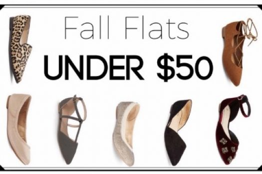 Fall Flats Under $50